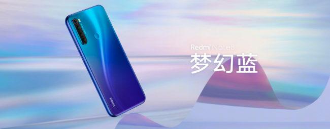 телефон Xiaomi Redmi Note 8