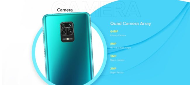 xiaomi redmi note 9 pro max камера