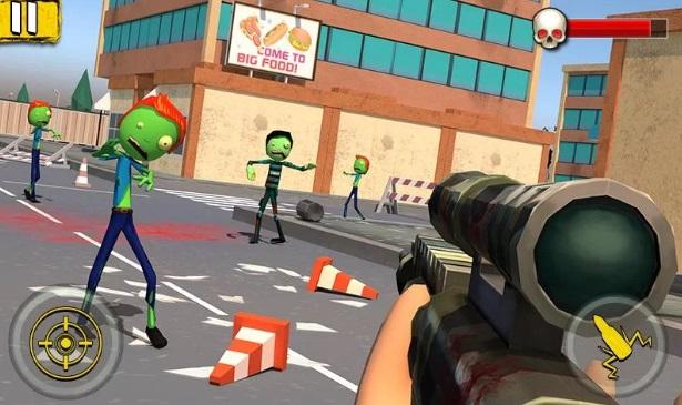Halloween Sniper: Scary Zombies на Андроид