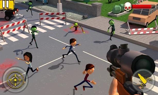 Halloween Sniper: Scary Zombies на ПК