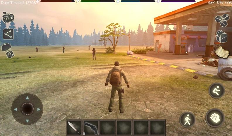 Zombie Crisis: Survival на Андроид