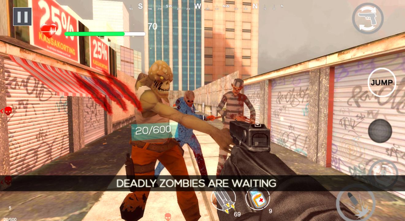 Zombie Shooter Dead Terror на Андроид