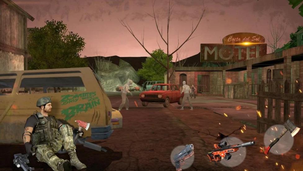 Zombie Hunter 3D на Андроид