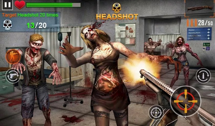 Zombie Shooter на Андроид