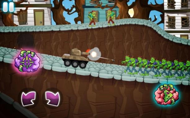 Zombie Survival Games: Pocket Tanks Battle на Андроид