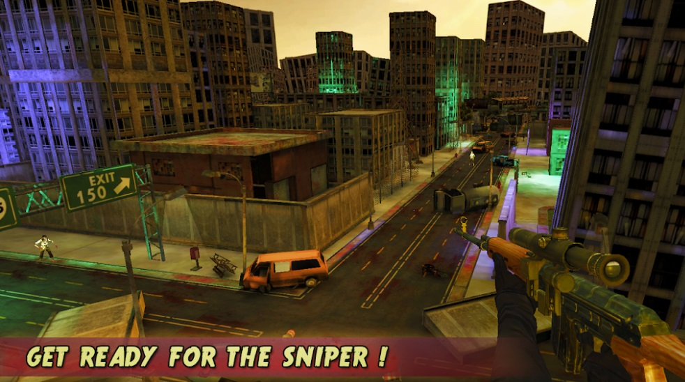 Zombie Sniper Shooter на Андроид
